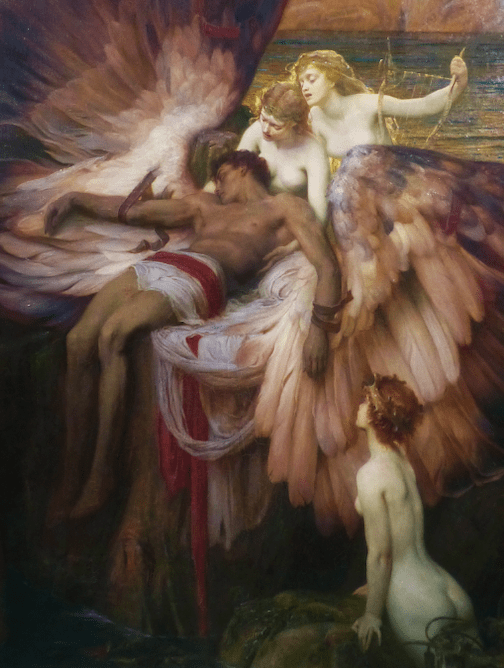 Icarus painting